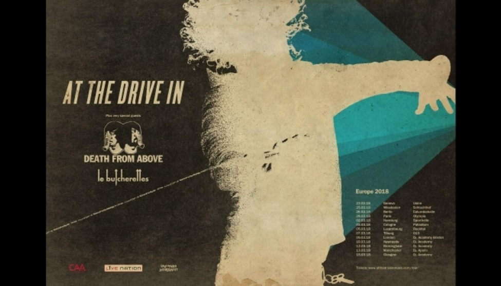 At The Drive-In | Fr 23. Februar 2018 | PTR - L'Usine, Genf