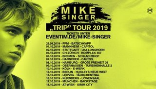 Mike Singer | Do 03. Oktober 2019 | Komplex 457, Zürich