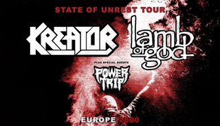 Kreator | Di 07. April 2020 | Samsung Hall, Zürich