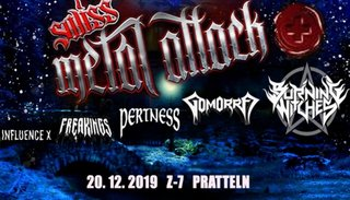 Burning Witches | Fr 20. Dezember 2019 | Konzertfabrik Z7, Basel